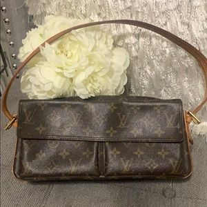 💗LOUIS VUITTON MONOGRAM VIVA CITE MM CANVAS💗